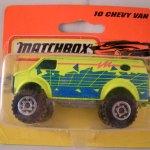 Matchbox 1994 Short Card