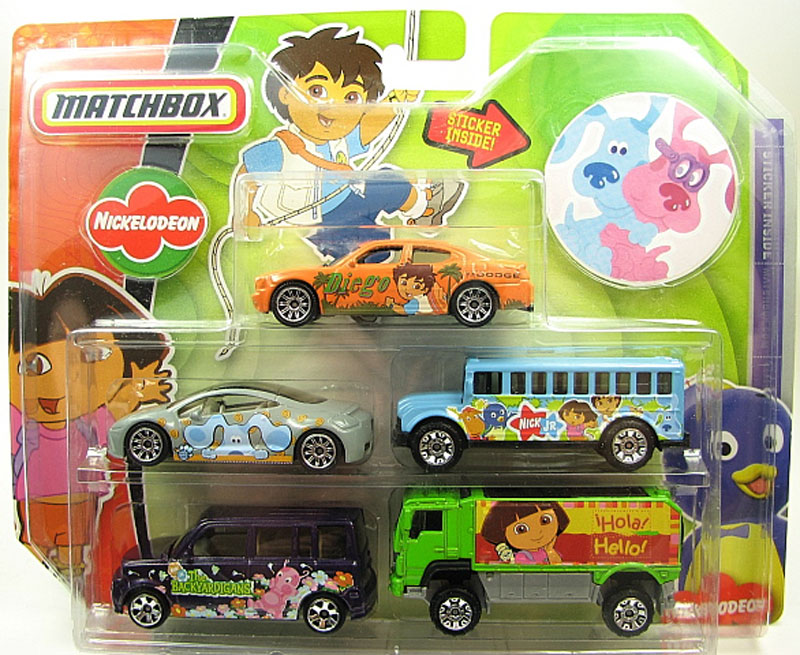 Matchbox 5 Pack : 2007 Nick Jr.