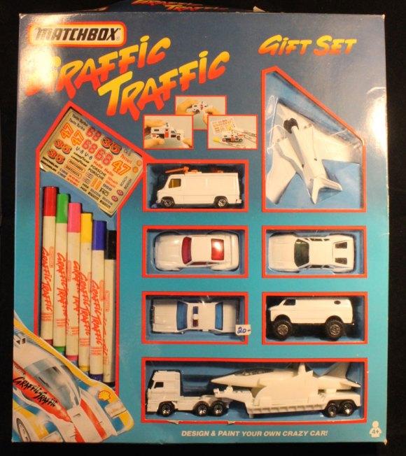 Matchbox Graffic Traffic Gift Set
