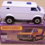 Matchbox MB068-18 : Chevy Van
