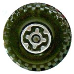 Matchbox Wheels : Maltese Cross - Chrome