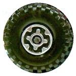 Matchbox Wheels : Maltese Cross - Chrome