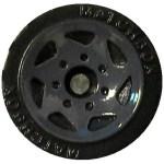 Matchbox Wheels : Sawblade - Grey