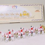 Matchbox Models of Yesteryear Y66-1 : 1762 Gold State Coach