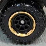 Matchbox Wheels : 8 Spoke Rimmed Black/Gold