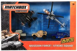 Matchbox Mission Force - Strike Squad