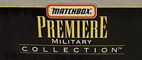 Matchbox Premiere Collection - Military Collection