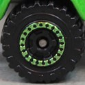 Matchbox Wheels : Cog - Black/Green