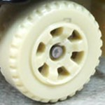 Matchbox Wheels : 6 Spoke Utility - Tan