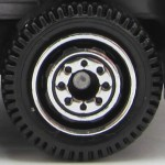Matchbox Wheels : 8 Dot Ringed