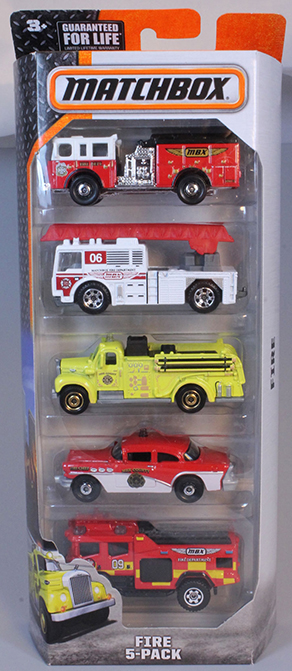 Matchbox 5 Pack : 2015 #07 – Fire