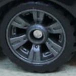 Matchbox Wheels : Double 6 Spoke UltraMax - Grey