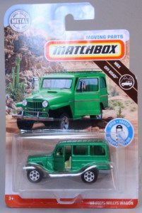 Matchbox MB1141-02 : '62 Jeep Willys Station Wagon