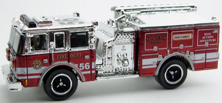 Matchbox MB755-01 : Pierce Dash Fire Engine