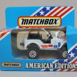 Matchbox 1987 USA Only box