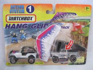 Matchbox Action System : Hang Glider Pack