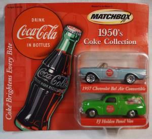 Matchbox Coke Collection - Avon Exclusives 1950s