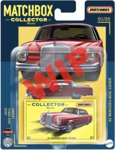 Matchbox Collector proposed blister