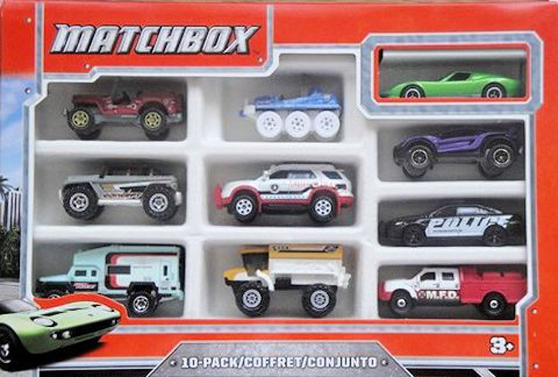 Matchbox 10 Pack : 2013 #03