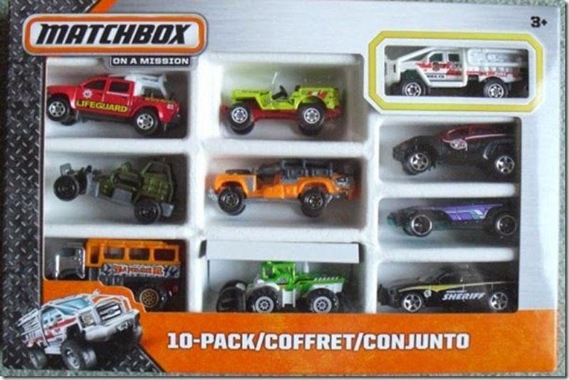 Matchbox 10 Pack : 2014 #07
