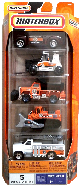 Matchbox 5 Pack : 2006 #10 – Construction