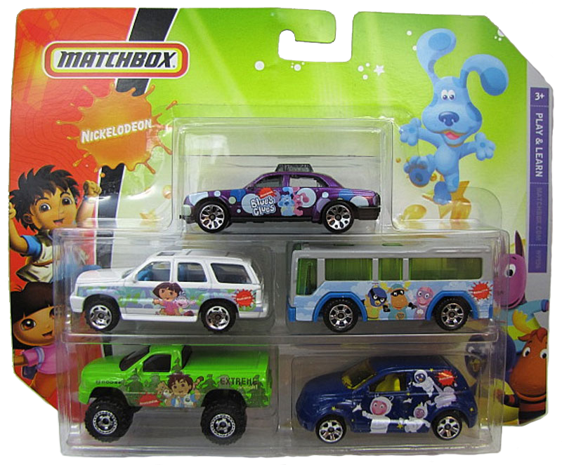 Matchbox 5 Pack : 2009 Nickelodeon #02