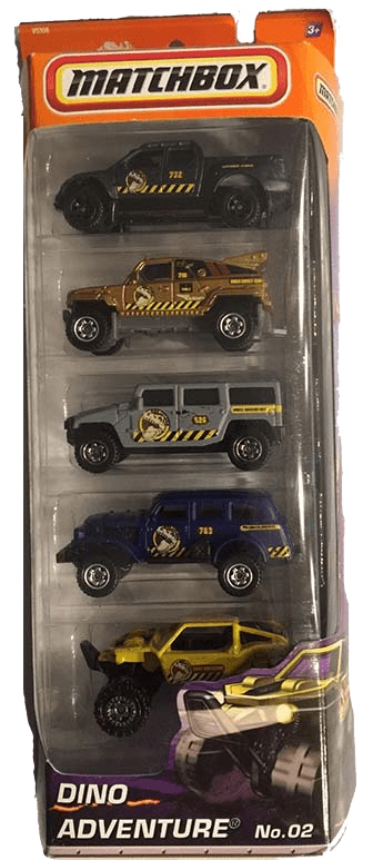 Matchbox 5 Pack : 2011 #02 – Dino Adventure