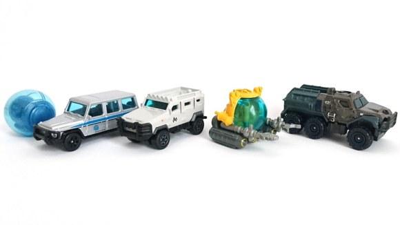 Matchbox 5 Pack : 2018 Jurassic Park – Island Transport Team