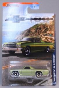 Matchbox MB1001 : 1970 Chevy El Camino