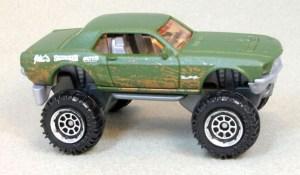 "Matchbox MB1009 : Custom '68 Mustang ""Mudstanger"""