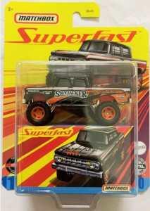 Matchbox MB1183 : '68 Dodge D200 Pickup 4x4