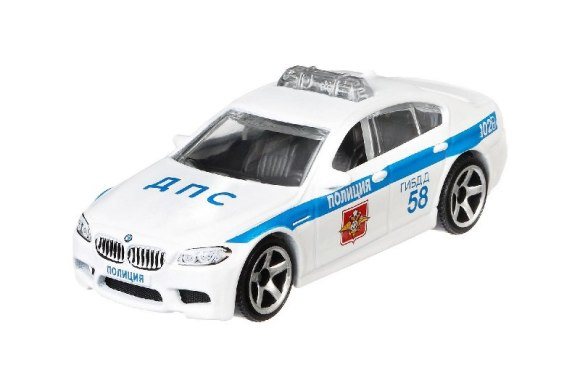 Matchbox MB966 : BMW M5 Police