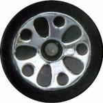 Matchbox Wheels : Teardrop - Chrome