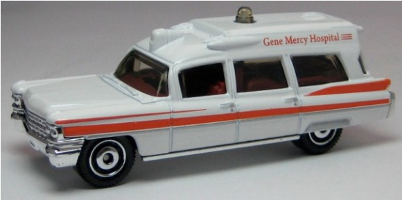 Matchbox MB780 : 1963 Cadillac Ambulance