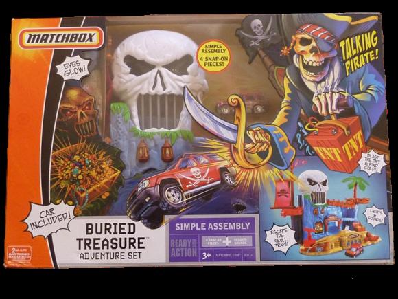 Matchbox Buried Treasure Playset – 2007