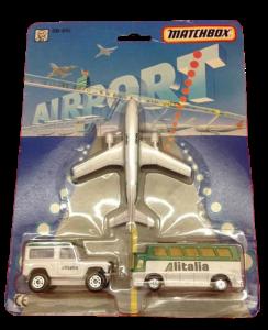 Matchbox Skybusters SB-810 Gift Set – Alitalia