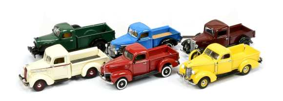 Matchbox Collectibles : YTC : Classic American Pickups Collection