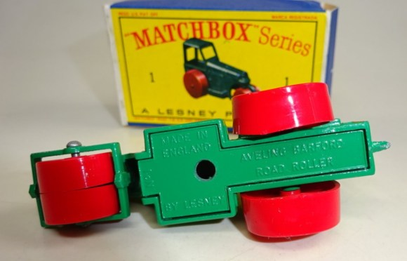 Matchbox 01C : Road Roller