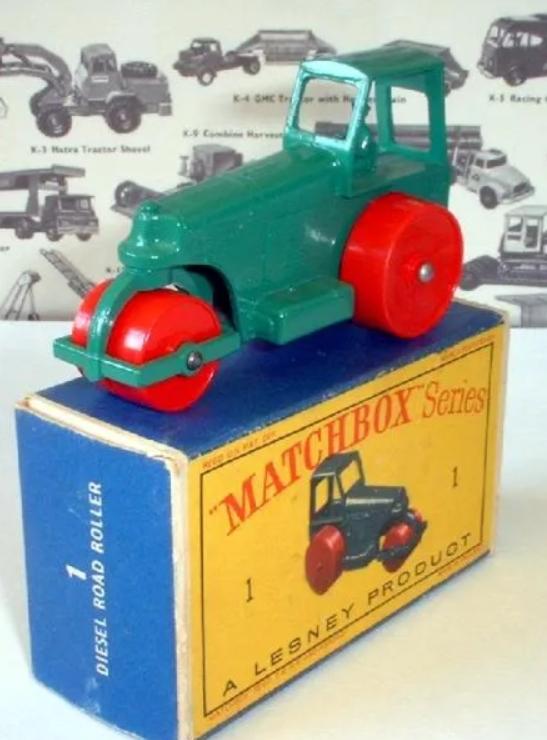 Matchbox 01D : Road Roller