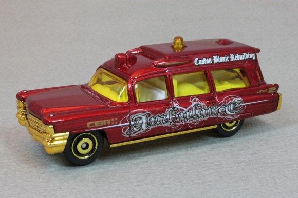 Matchbox MB780 : 1963 Cadillac Ambulance