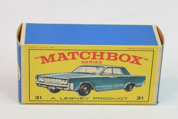Matchbox Miniatures Box Type – E