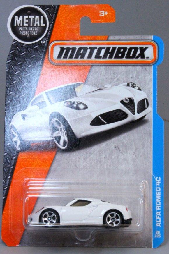 Matchbox 2016 Basic Range Long Card