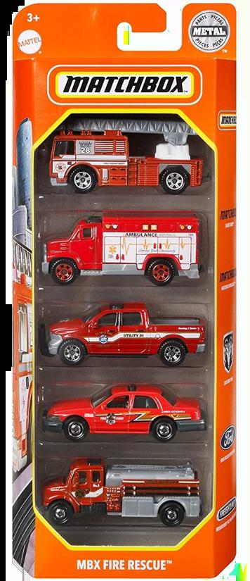 Matchbox 5 Pack : 2021 #14 – MBX Fire Rescue