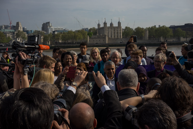 Sadiq Khan press and citizens