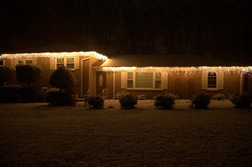 Snowy Christmas Evening
