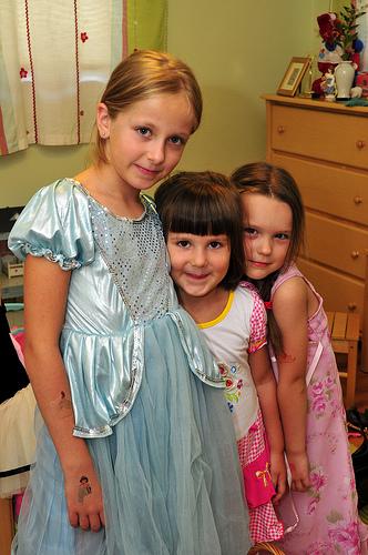 Three Half-Polish Girls