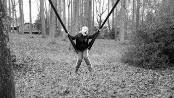 """""""The swing is broken!"""""""
