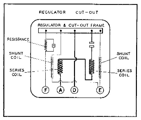 how the lucas voltage regulator works • matchless clueless