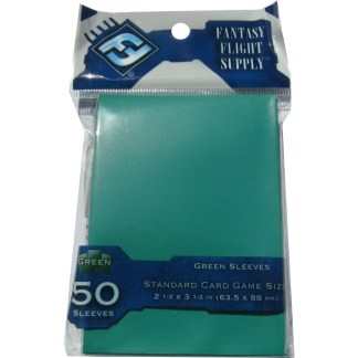 FFG FFS29 Solid Green Card Sleeves