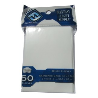 FFG FFS31 Solid White Card Sleeves